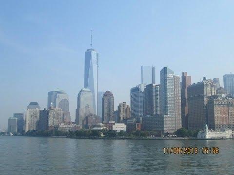 Vlog New York: 10,11,12 settembre 2013 - Central Park, Liberty Statue, Lower Manhattan