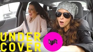 Undercover Lyft with Danica Patrick