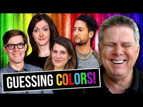 CAN YOUTUBERS DESCRIBE COLORS TO A BLIND PERSON?