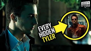 FIGHT CLUB 43 Easter Eggs, Insane Details,Things You Missed And Every Hidden Tyler Durden Appearance
