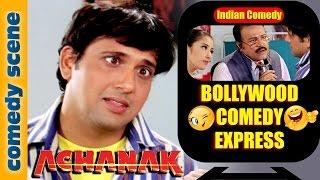 Govinda Comedy Scene {HD} | Bollywood Comedy Express | Achanak | Indian Comedy