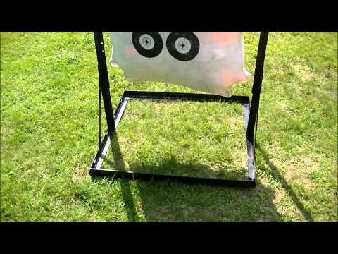 Custom Home Built Archery Bag Target Stand