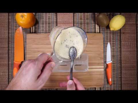 How to make Banana Chocolate Popsicles