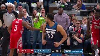 2nd Quarter, One Box Video: Minnesota Timberwolves vs. Houston Rockets