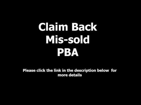 PBA Claims - Claim Unfair UK Packaged Bank Charges Back