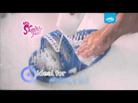 Shower Feet -  Clean  and massage your feet without bending