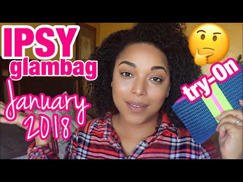 I GOT A REALLY GOOD GLAMBAG THIS MONTH!   IPSY January 2018 Glam Bag