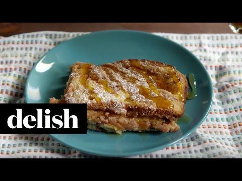 How To Make Cinnamon Swirl French Toast | Delish