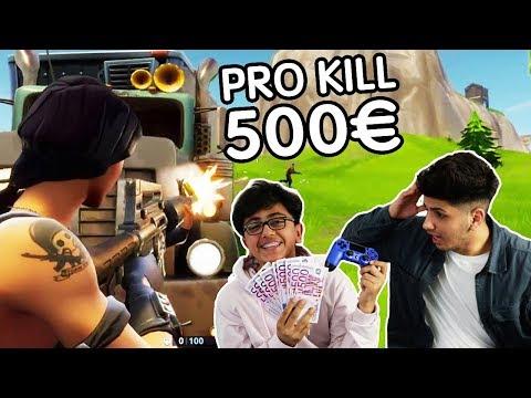 MEIN KLEINER BRUDER BEKOMMT FÜR JEDEN KILL 500€!!! (FORTNITE BATTLE ROAYALE)   SKK