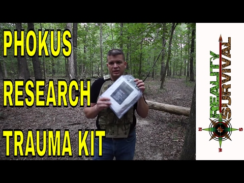 Best Trauma Kit for Combat! Phokus Research Sons Deployment Trauma Kit