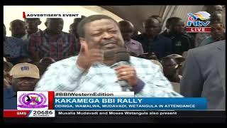 BBI in Kakamega: Nimekuja kumaliza fitina - Musalia Mudavadi