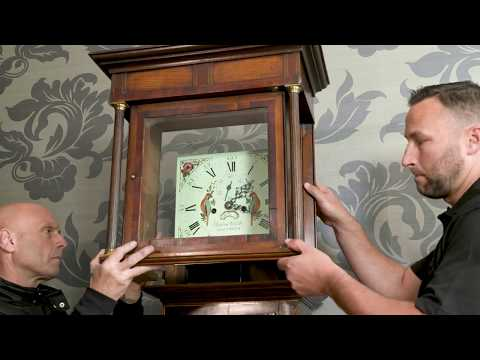 How to safely dismantle and pack a grandfather clock