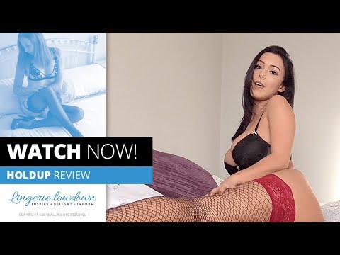 Xxx Mp4 PREVIEW ONLY Lauren Louise Reviews La Senza Fishnet Holdups 3gp Sex