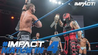 Austin Aries & Matt Sydal vs Pentagon Jr & Fantasma: Match in 4 | IMPACT! Highlights May 17, 2018