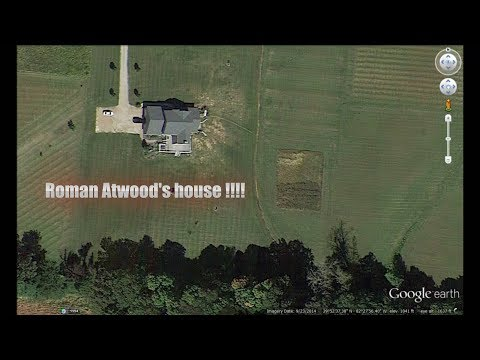 Roman Atwood's house on google earth!?!?   *ADDRESS LEAKED!!*