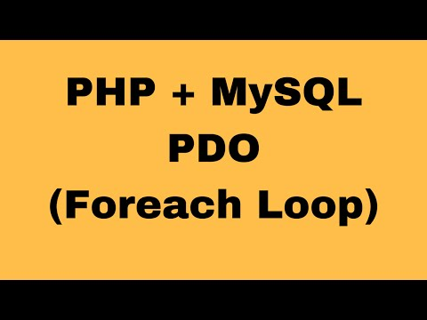 PHP Tutorial - How To Display Records From MySQL Database In Php Using Foreach [with source code]