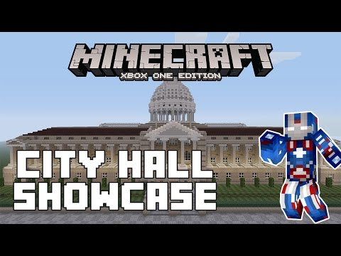 Minecraft Xbox One: City Hall Showcase!