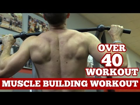 Men Over 40 Workout - How to Build Muscle at 40+ Years Old