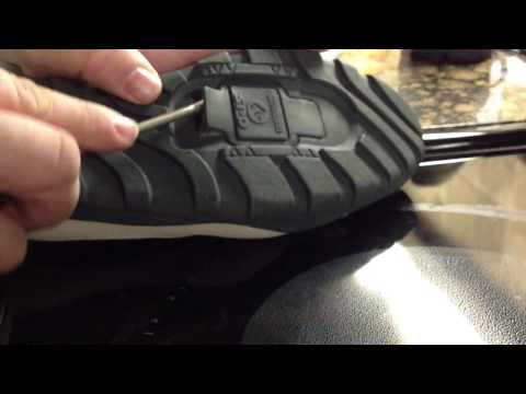 Prepare Shimano SPD shoes for cleat install