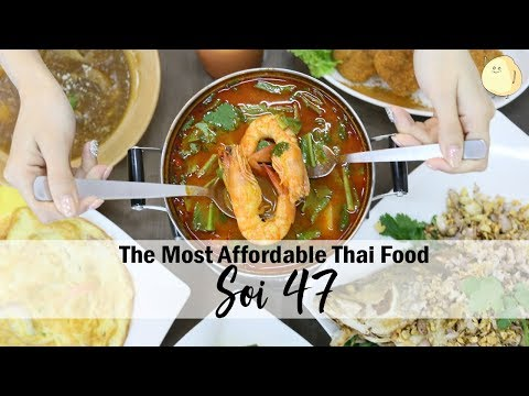 Soi 47 - Authentic Thai Food Eatery Opens At King George's Avenue