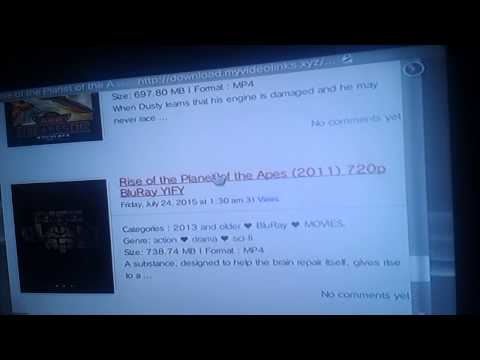 How to download FREE movies on PS3 2016