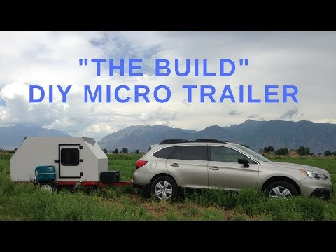 Micro Trailer / Camping POD - The BUILD