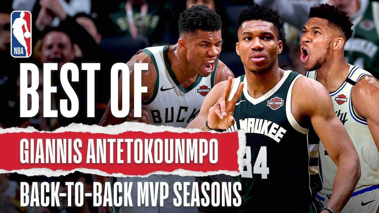 BEST Of Giannis Antetokounmpo's Back-To-Back MVP Seasons | #NBABDAY