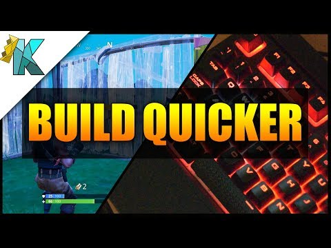 Fortnite 101 - How to build quicker - Remap your Keyboard/Mouse Buttons