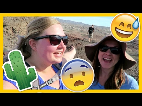 LOST HIKING ON A MOUNTAIN 😨😅🗻 Lake Havasu City, Arizona 🏜Full Time RV Living