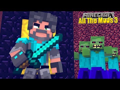 THE NETHER IS OP!! | MINECRAFT ALL THE MODS 3 [#6]