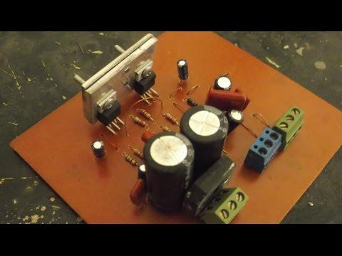 tda2030 / tda2050 based Stereo amplifier tutorial -- PCB manufacturing & Soldering -- Tutorial