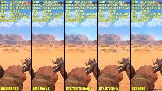 Dead Rising 4 GTX 1060 Vs AMD RX 480 Vs GTX 970 Vs GTX 780