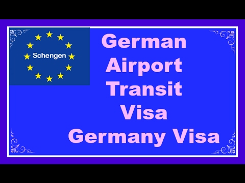 Germany Airport Tansit Visa-Germany Visa