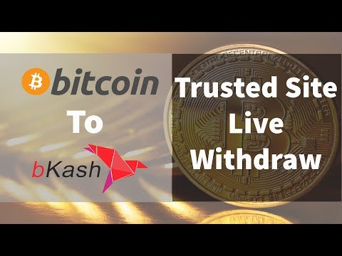 Bitcoin/Dollar/skrill/perfect money to bkash withdraw II Trusted site live withdraw with proof