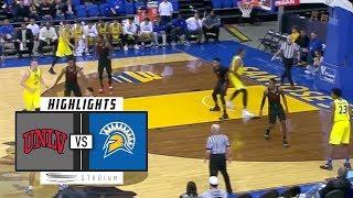 UNLV vs. San Jose State Basketball Highlights (2018-19) | Stadium