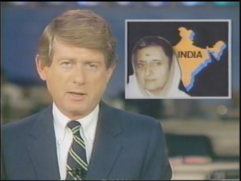 ABC News Nightline: Indira Gandhi Assassination