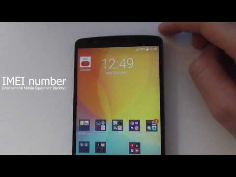 How to find the IMEI Number (LG G3, Android)