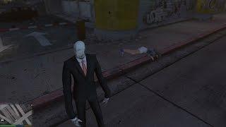 GTA 5 Slender Man Mod - Bóng Ma Sát Nhân Trong GTA 5