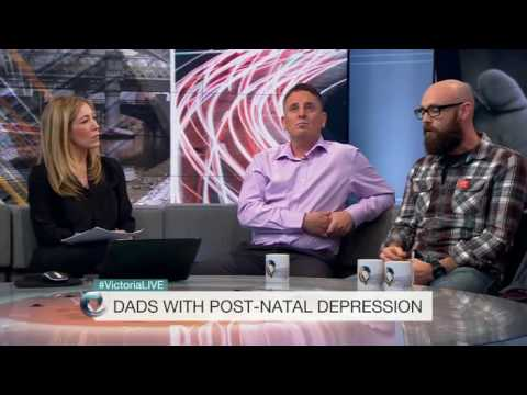 GP told dad with postnatal depression to man up
