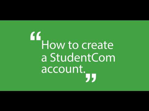 StudentCom - How to Create a StudentCom Account