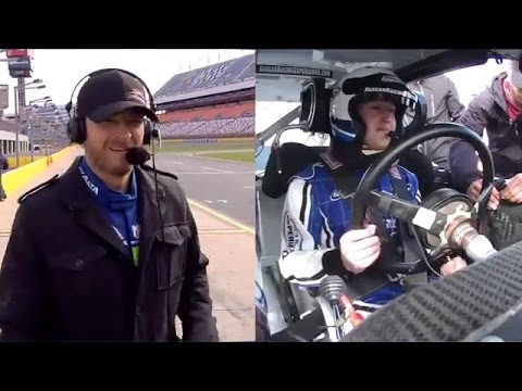 Mark Zuckerberg Drive NASCAR cup car racing 1st time experience