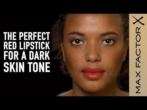 Best Red Lipstick Shades for Dark Skin Tones | Max Factor Make-Up Tutorial