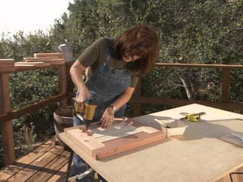 How to Build a Bench with Planters