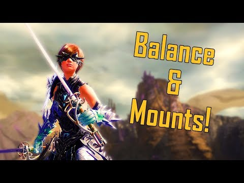 Guild Wars 2 - NEW Balance Patch & Mount Conundrum
