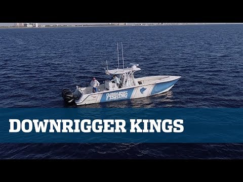 Downrigger/Slow Trolling King Mackerel - Florida Sport Fishing TV