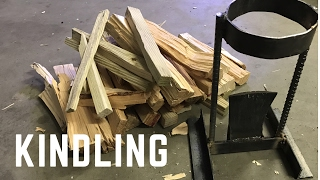 Making a kindling splitter/cracker