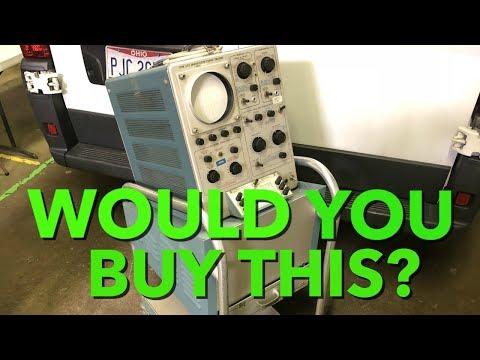 Friday Garage Sale Haul, Oscilloscope, Video Games & A LOT MORE!