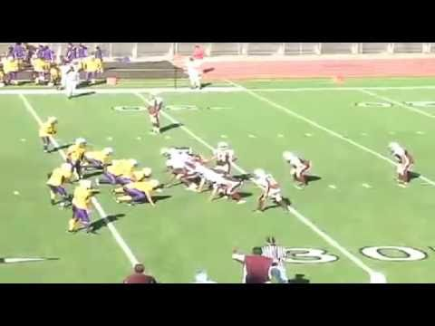 Walking Touchdown So Funny!!! Quarterback Trick Play
