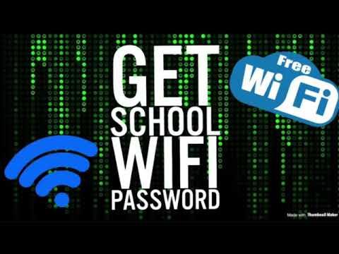 HOW TO GET SCHOOL WIFI PASSWORD (NO DOWNLOAD)