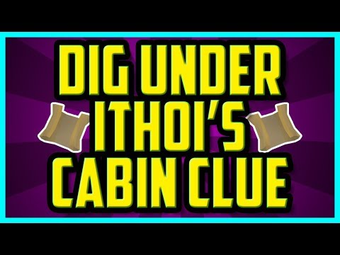 Dig Under Ithois Cabin Clue OSRS Answer (QUICK & EASY) - Oldschool Runescape Clue Solutions